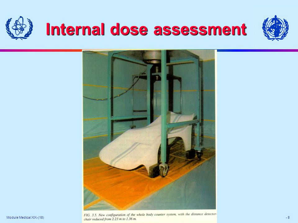 Module Medical XIX-(18) - 8 Internal dose assessment