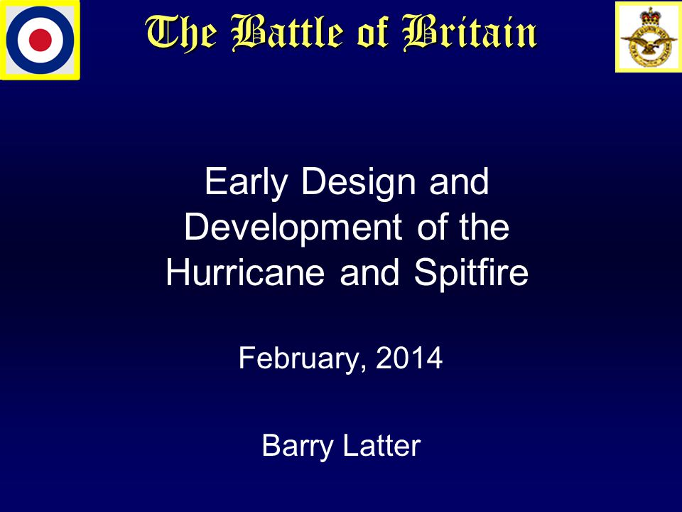 The Battle of Britain Questions?