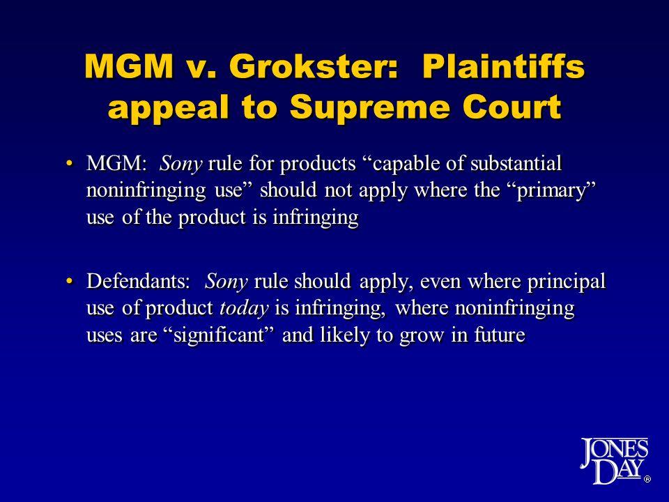  MGM v.