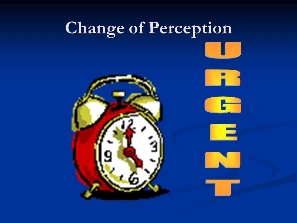 Change of Perception