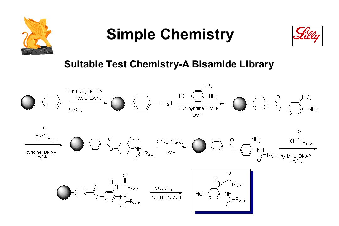Suitable Test Chemistry-A Bisamide Library Simple Chemistry