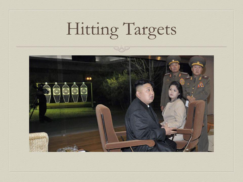 Hitting Targets