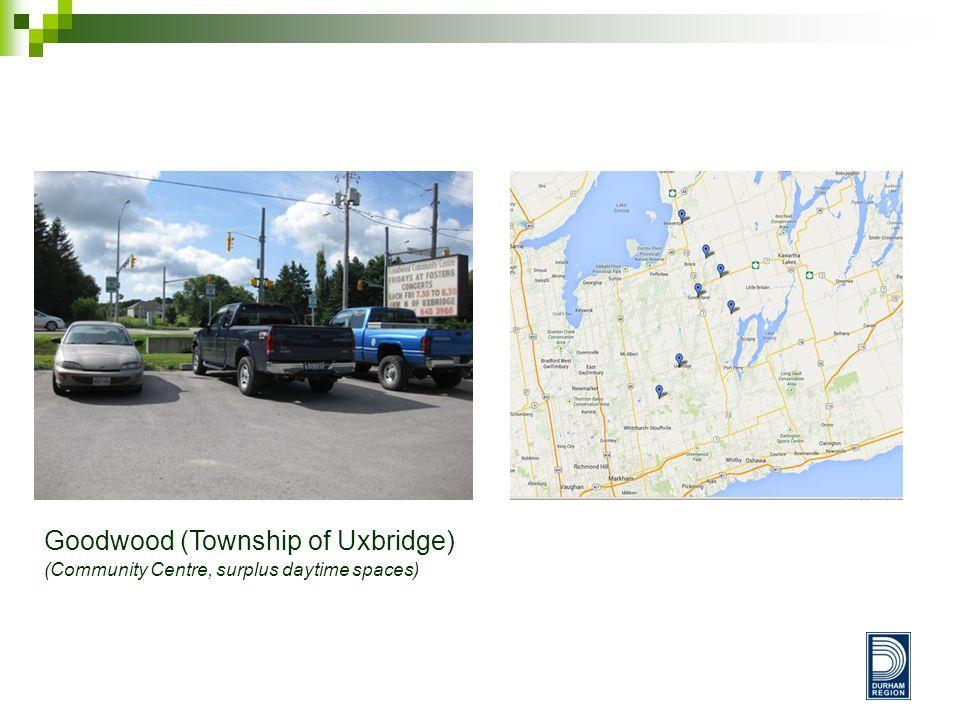 Goodwood (Township of Uxbridge) (Community Centre, surplus daytime spaces)
