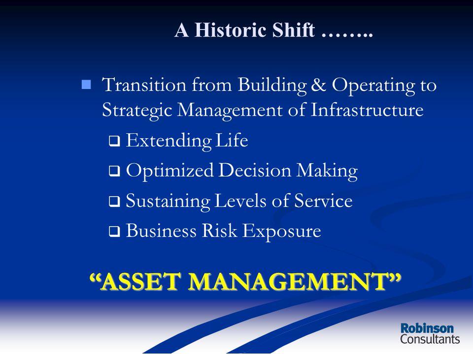 A Historic Shift ……..