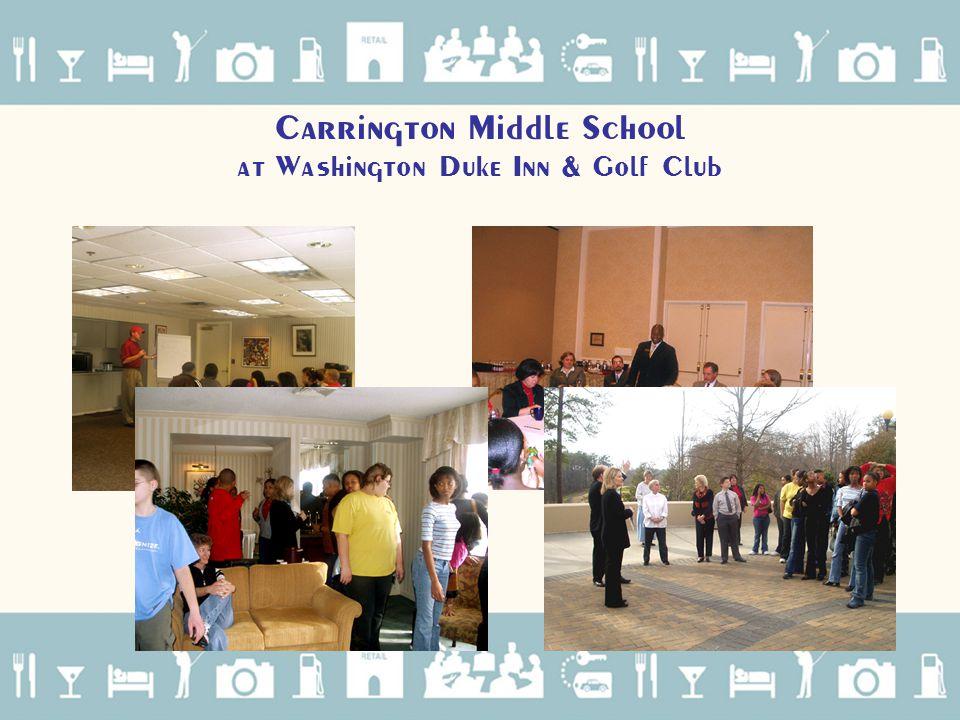 Carrington Middle School at Washington Duke Inn & Golf Club