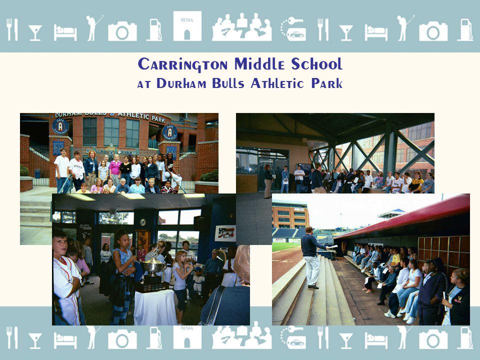 Carrington Middle School at Durham Bulls Athletic Park