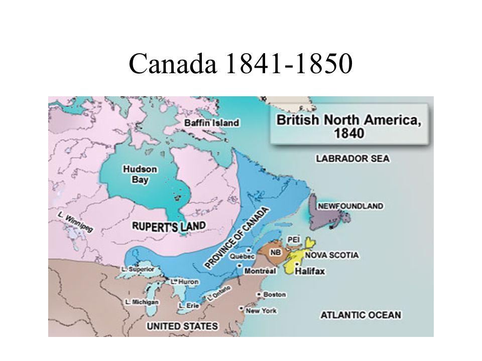 Canada 1841-1850