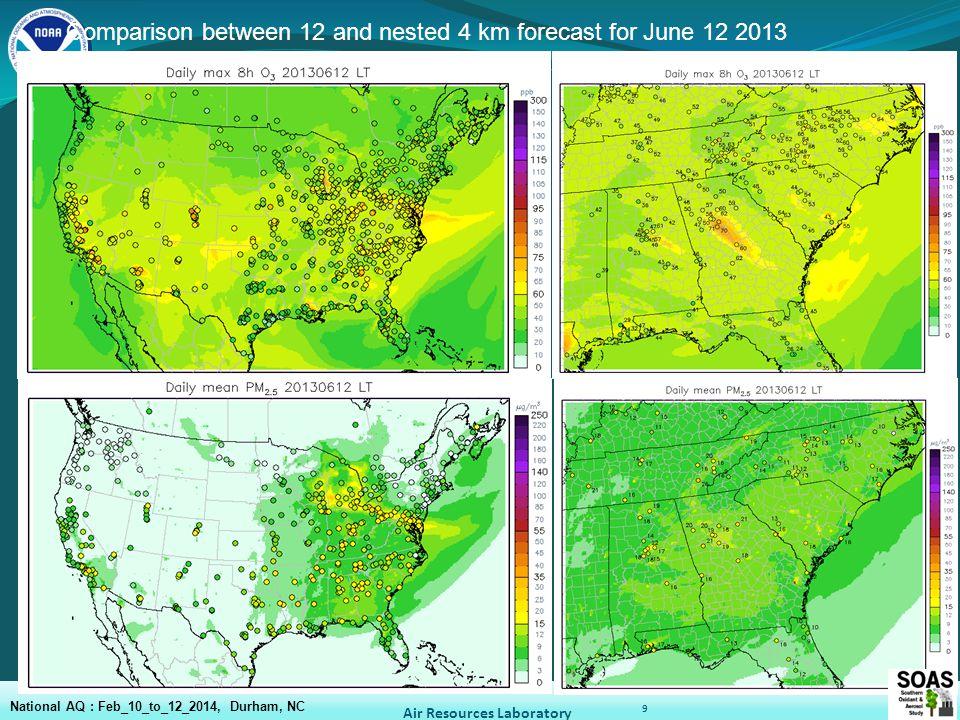 10 Bias RMSE grid-2-obs verification and beyond Kang et al., CMAS 2011 Air Resources Laboratory National AQ : Feb_10_to_12_2014, Durham, NC