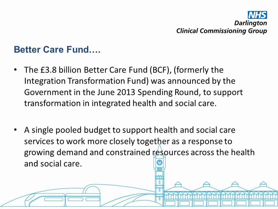 Better Care Fund….