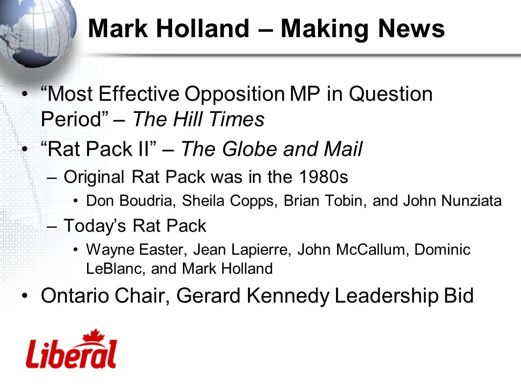 Mark Holland – Making News Vote 16 –www.vote16.ca –www.votesat16.org.uk