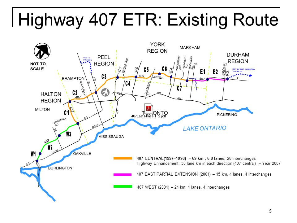 16 Key Municipal Enhancements  The province has included significant additional infrastructure:  Bike lanes and sidewalks  Additional lanes on bridges for municipal expansion  Municipal intersection improvements at some strategic locations along Phase 1 to improve traffic flow  MTO has committed to providing support to municipalities such as turning lanes and/or traffic signals that support both local traffic and Highway 407 East operations.