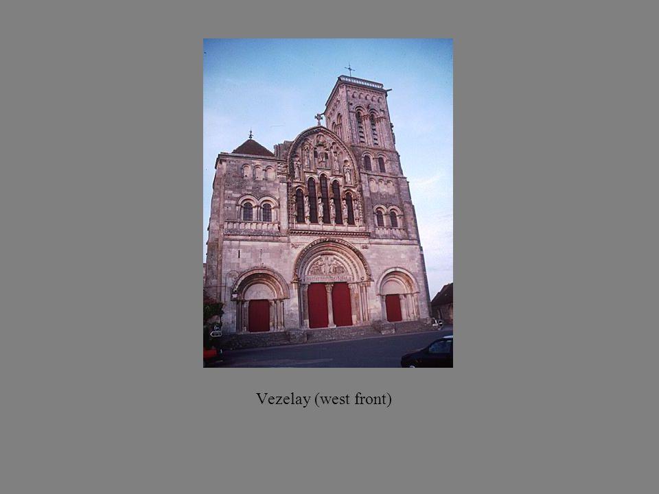 Vezelay (west front)
