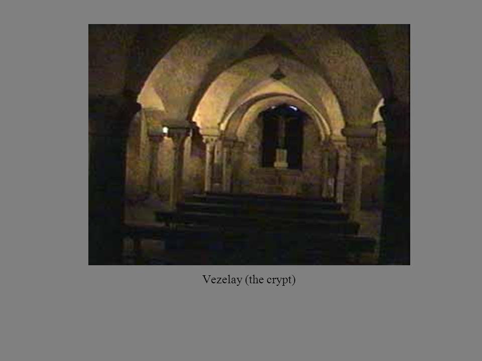 Vezelay (the crypt)