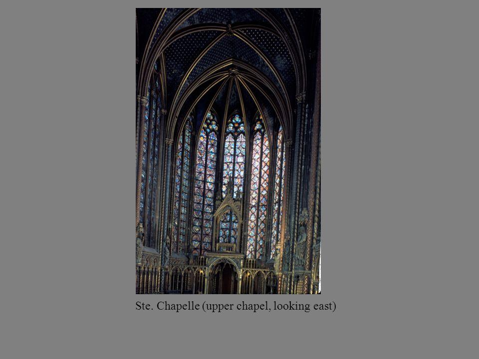 Ste. Chapelle (upper chapel, looking east)