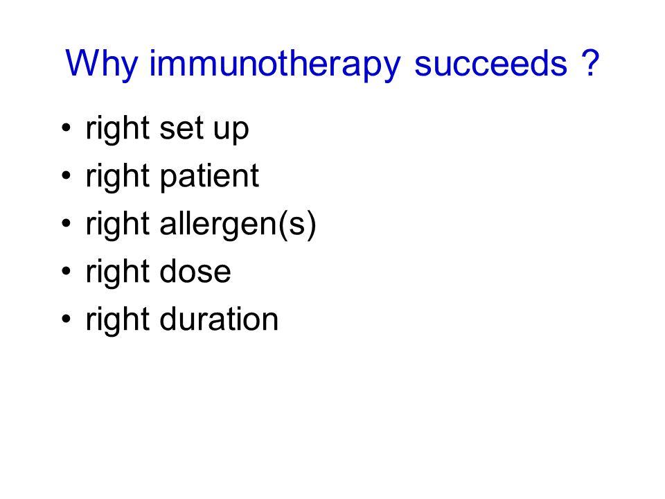J Allergy Clin Immunol 2006; 117: 319-25 26 centres, n=410 100,000 SQ, 10,000 SQ and placebo