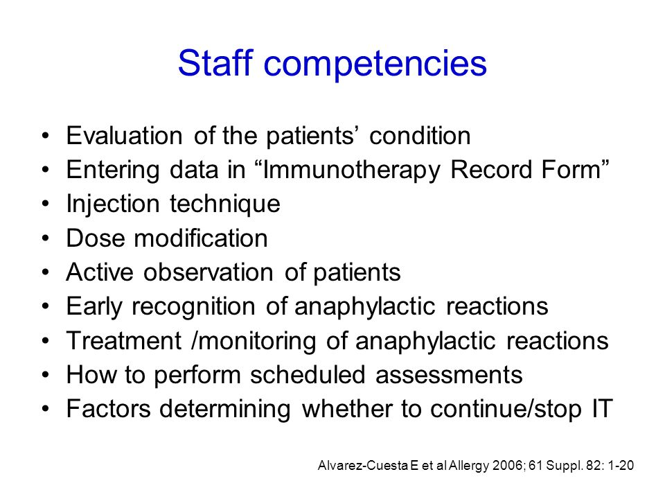 right set up right patient right allergen(s) right dose right duration Why immunotherapy succeeds ?
