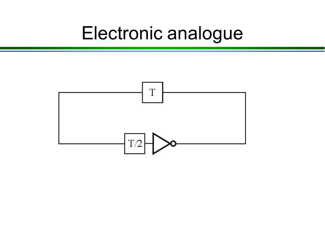 Electronic analogue