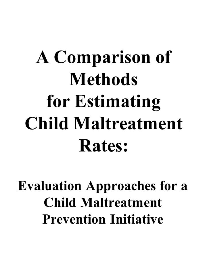 Conclusions While just over one percent of children aged 4 to 6 years old in Durham County received a substantiation for maltreatment by DSS, 55% of neighborhood survey respondents reported witnessing a nearby mother of a 4- to 6-year-old behave in a manner consistent with maltreatment, and 49% of respondents reported behaviors towards their own 4- to 6-year-old consistent with maltreatment.