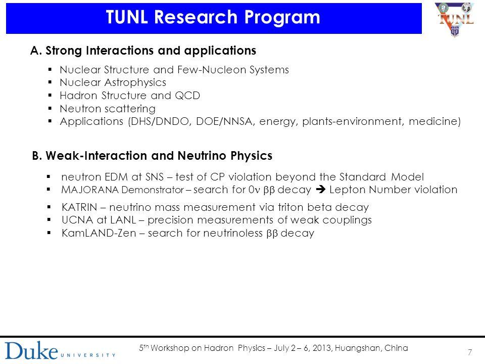 5 th Workshop on Hadron Physics – July 2 – 6, 2013, Huangshan, China EFT calculation of deuteron PV photodisintegration C.-P.