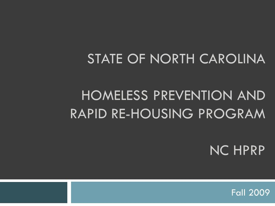 Presenters Martha Are Office of Economic Recovery & Investment martha.are@nc.gov martha.are@nc.gov Erin Crossfield NC Housing Finance Agency ejcrossfield@nchfa.com ejcrossfield@nchfa.com