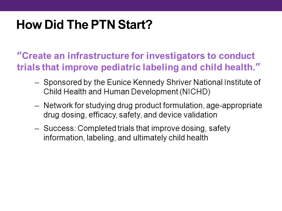 How Did The PTN Start.