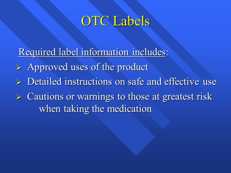 Label information controlled by the FDA OTC Antacids Ingredients: 12 fl.