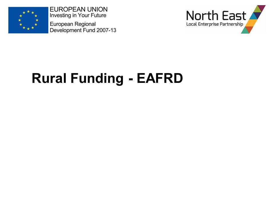 Rural Funding - EAFRD