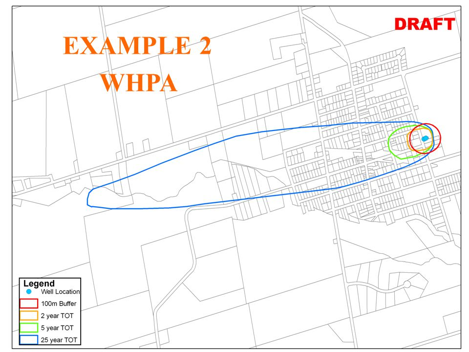 28 JHL WHPA for Creemore (Unlabelled) Vulnerability Scores only EXAMPLE 2 WHPA