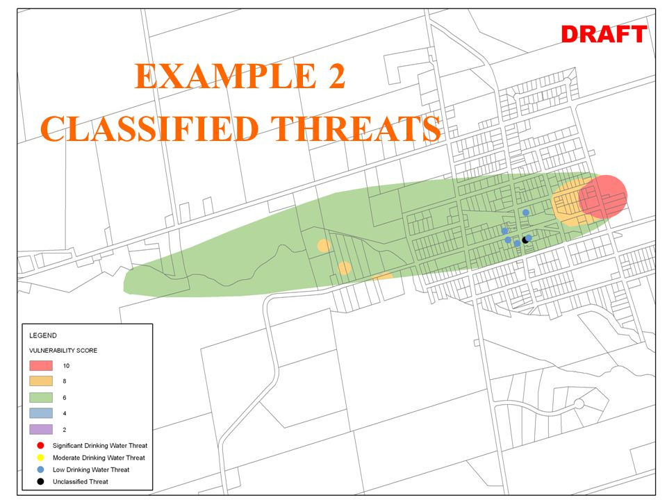 32 JHL Significant, Moderate, Low Threats for Creemore (Unlabelled) EXAMPLE 2 CLASSIFIED THREATS