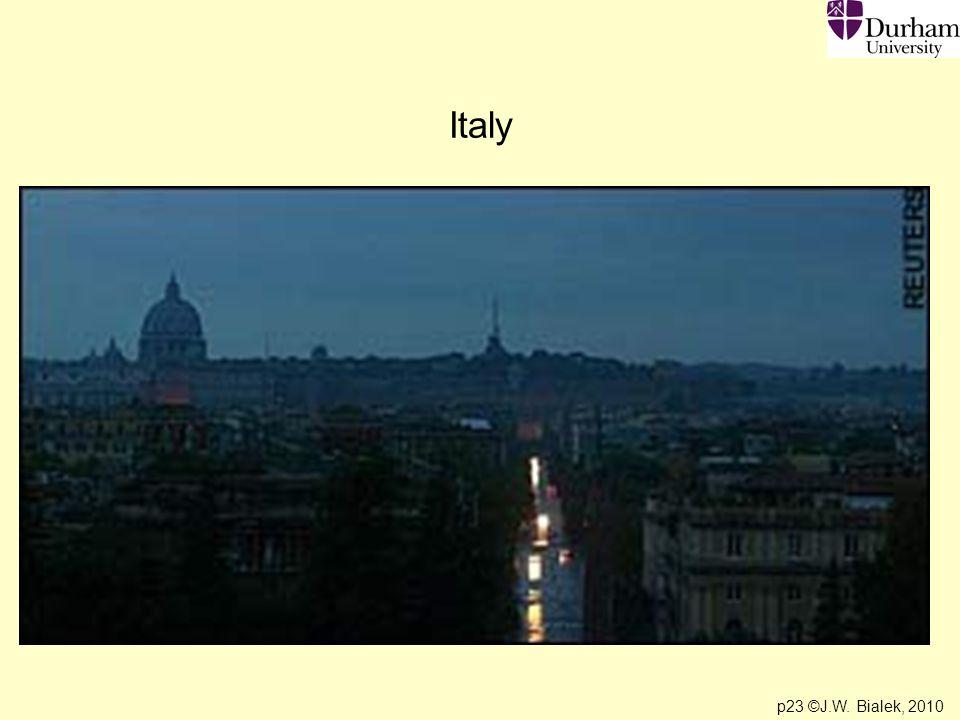 p23 ©J.W. Bialek, 2010 Italy