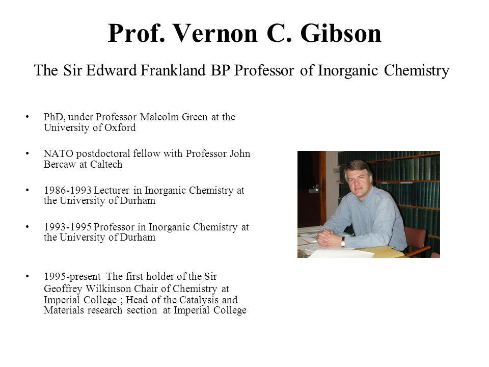 Prof. Vernon C.
