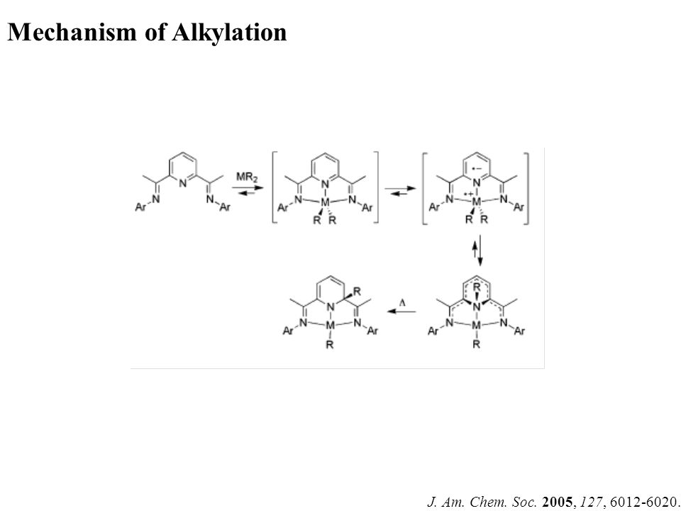 J. Am. Chem. Soc. 2005, 127, 6012-6020. Mechanism of Alkylation