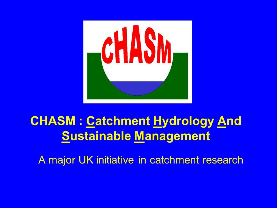 13 NICHE-CHASM Catchments Feshie University of Aberdeen University of Dundee 200 km 2 Oona Water University of Ulster 92 km 2 Eden University of Newcastle University of Lancaster University of Durham University of Leeds Inst.