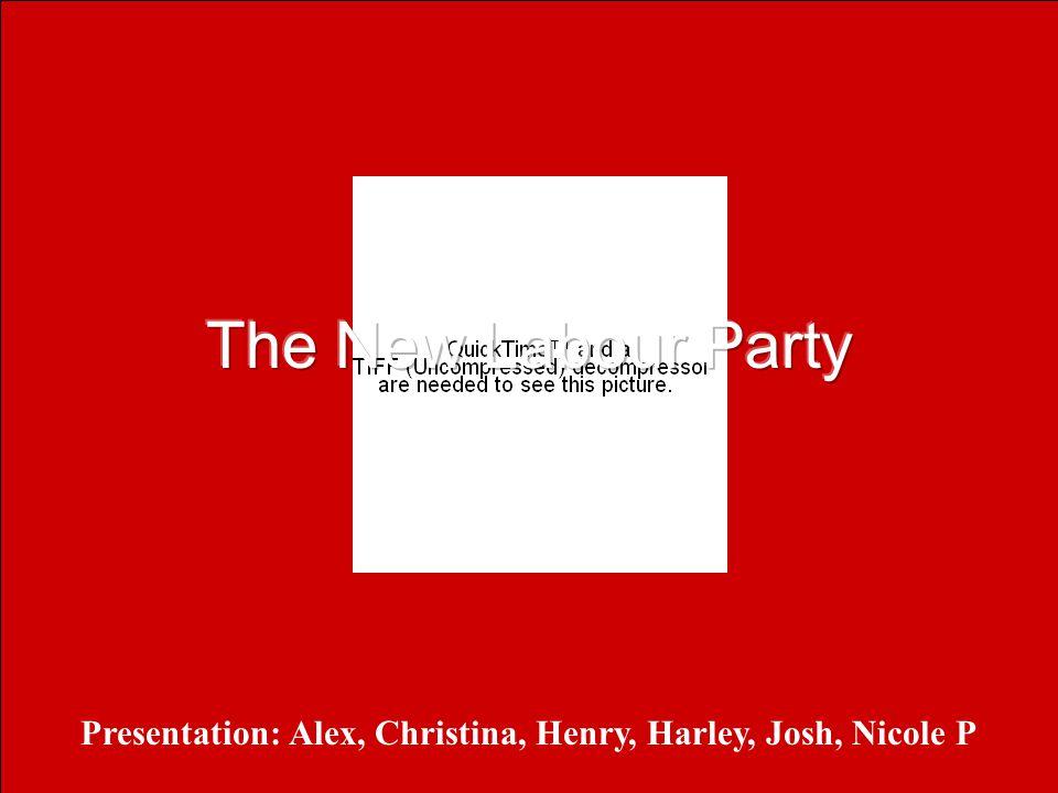 Presentation: Alex, Christina, Henry, Harley, Josh, Nicole P