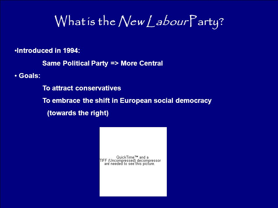 What is the New Labour Party.