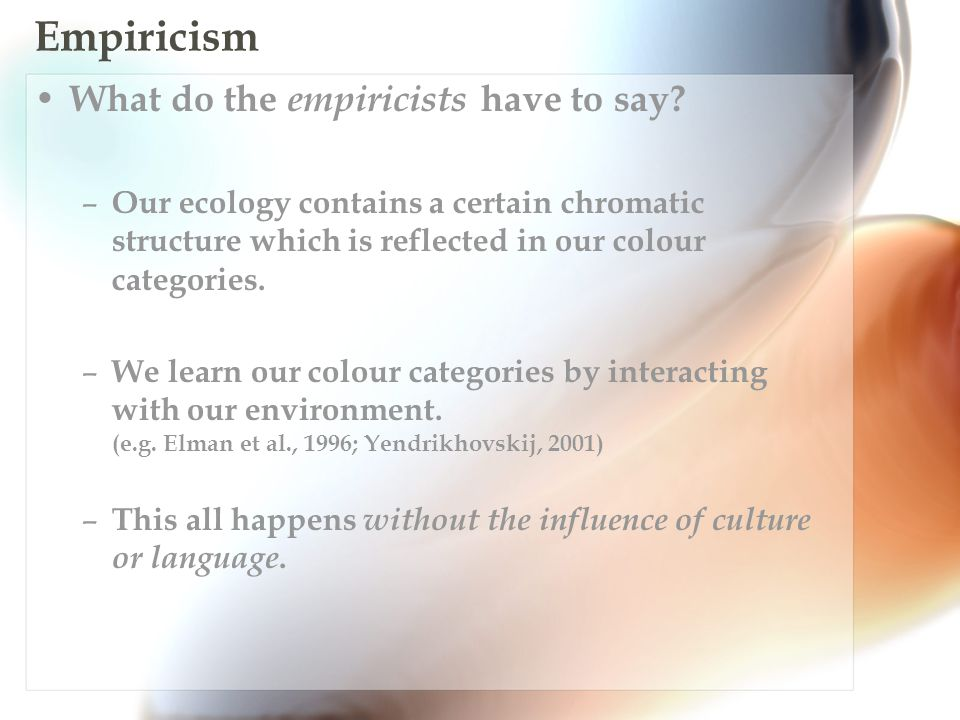 Culturalism And finally, how do culturalists account for universalism.