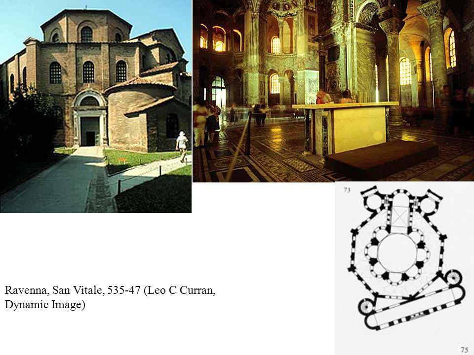 Ravenna, San Vitale, 535-47 (Leo C Curran, Dynamic Image)