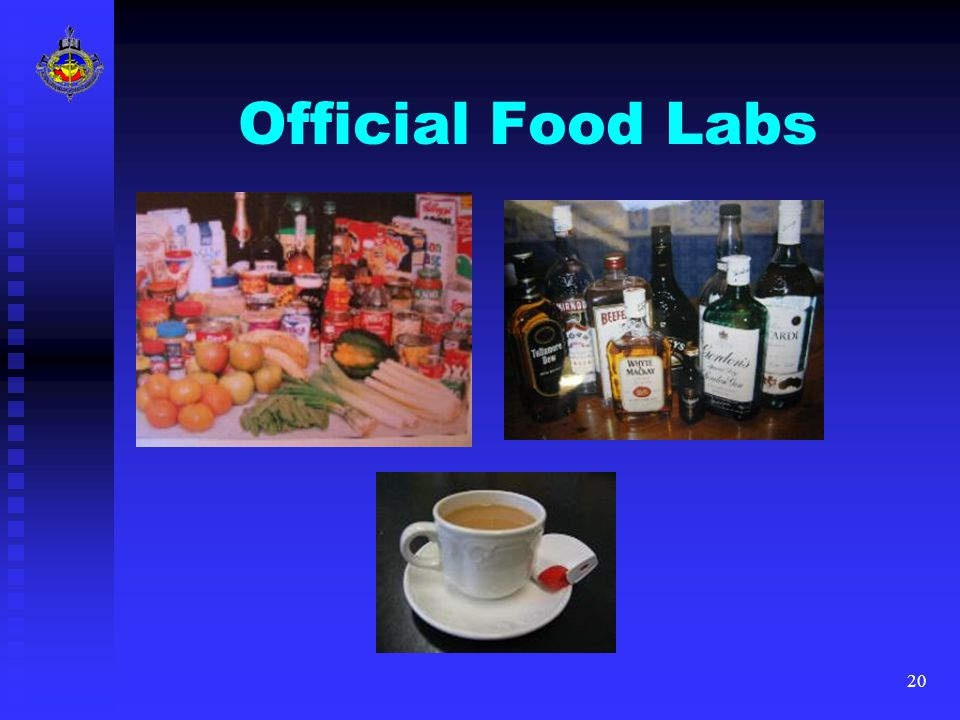 20 Official Food Labs
