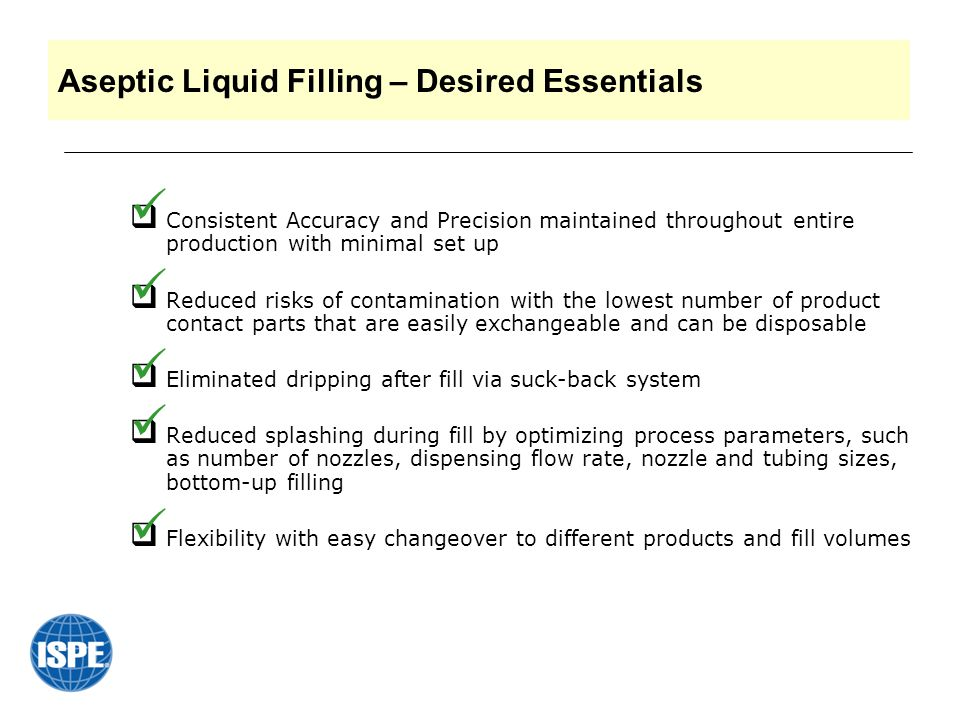 CCL Industries, Toronto ON While working with the new aerosol system, coincidently, an ideal product for Aseptic Liquid Filling was created.