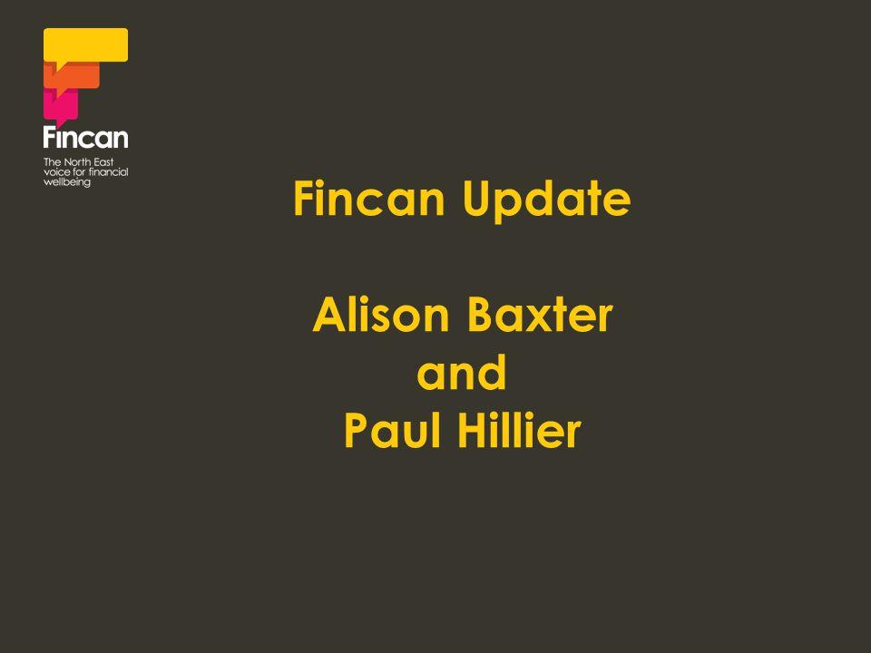 Fincan Update Alison Baxter and Paul Hillier