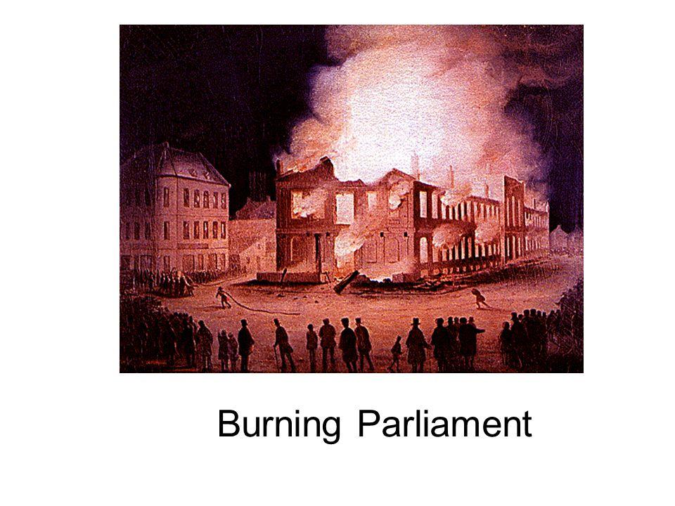 Burning Parliament