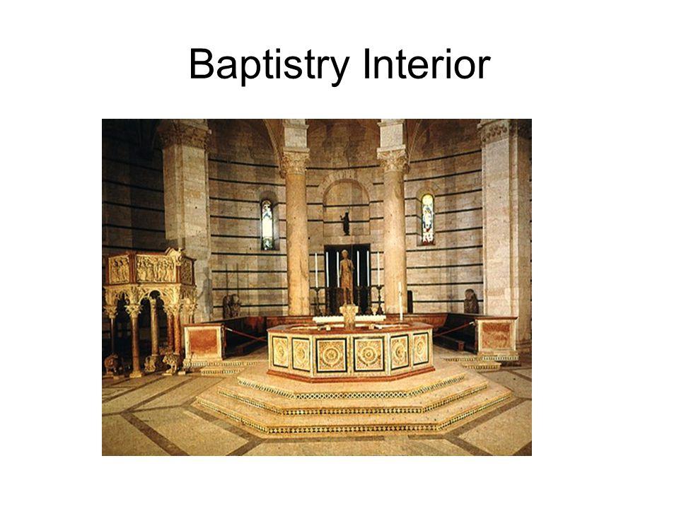 Baptistry Interior