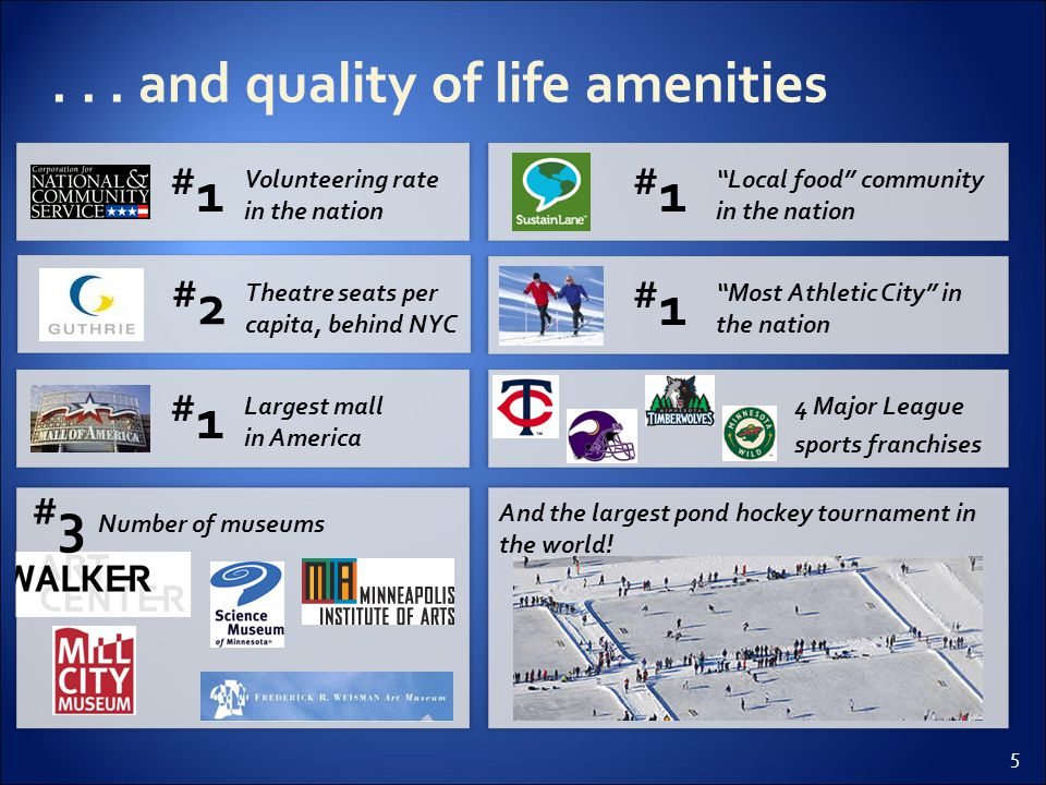 16 Unified Regional Vision Central ED Governance Sector focus Marketing Campaign Process Levers MSP above peers and national average MSP around average MSP below average Supporting Facts  Currently various economic development entities operate with varying visions  ED pursued at a sub-regional level  Currently, ED entities operate largely autonomously  Sub-regions within MSP often compete for business rather than coordinating efforts  Historically limited coordinated cluster efforts but some current activities underway (e.g., RCM, Humphrey Institute)  Limited outreach efforts on regional basis, with most outreach coming from city entities such as Capital City Partnership  More to Life and Positively Minnesota efforts Assessment Greater MSP Assessment 16