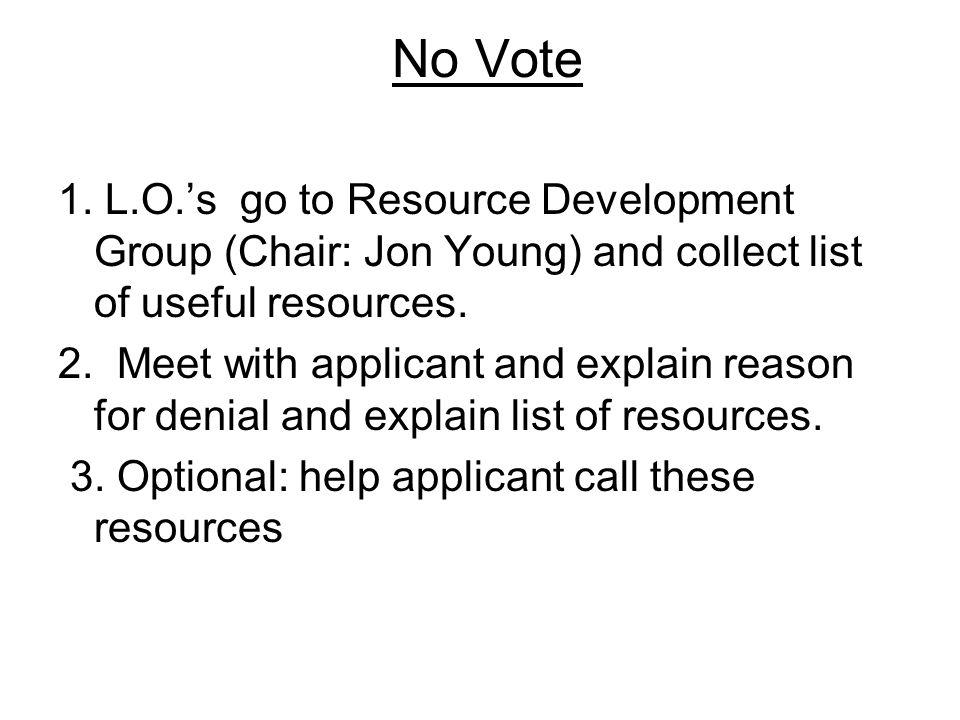 No Vote 1.