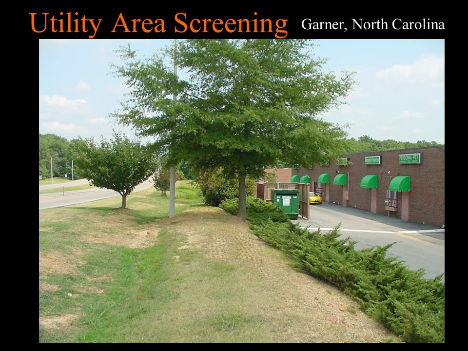 Utility Area Screening Okemos, Michigan