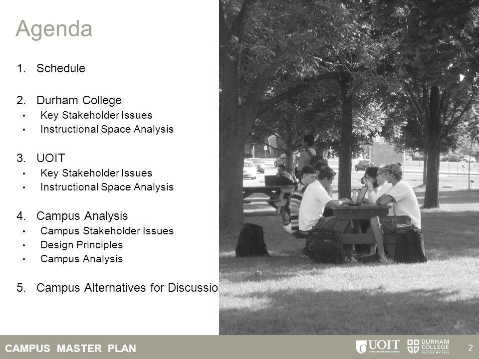 CAMPUS MASTER PLAN 43 Sense of Place Campus Landscape: Buildings