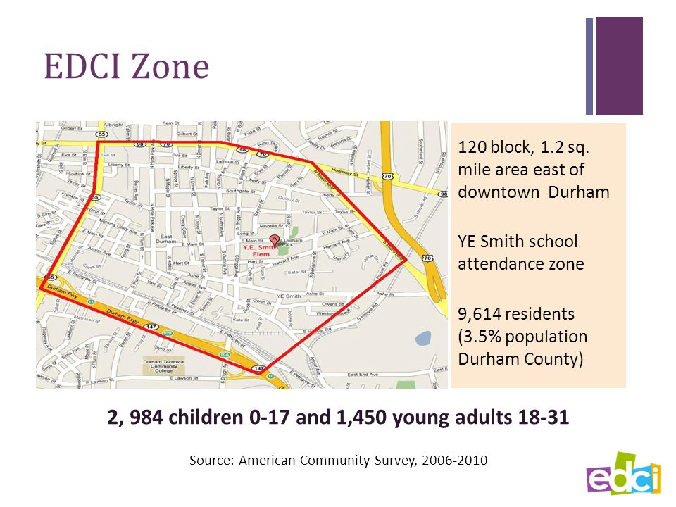 EDCI Zone 120 block, 1.2 sq.