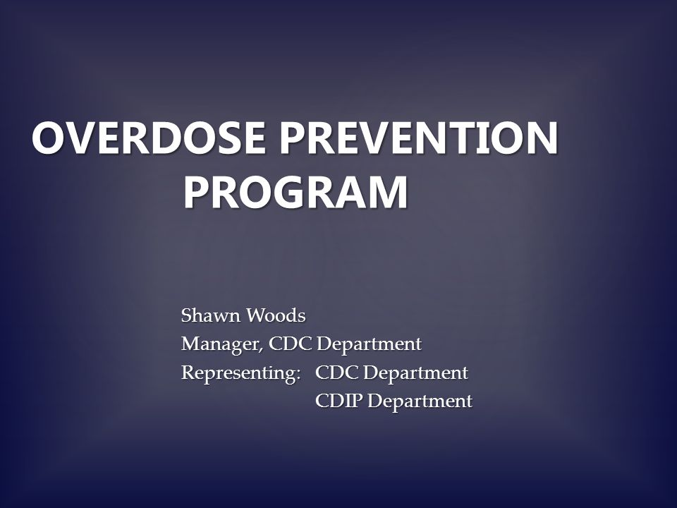 BACKGROUND Provincial Narcotic Strategy in 2010 which included harm reduction programs 2012 Oxycontin (Opiate) discontinued March 2012 - MOHLTC created Expert Working Group on Narcotic Addictions
