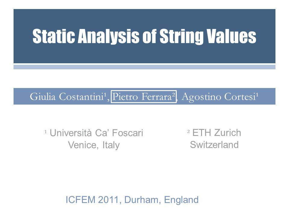 G.Costantini, P. Ferrara, and A.