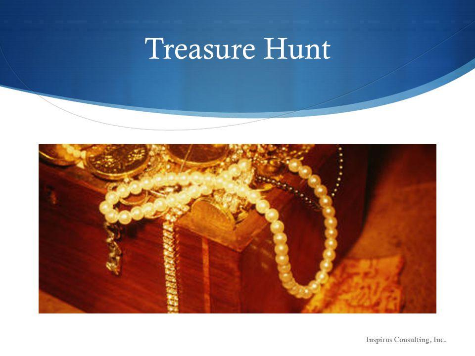 Treasure Hunt Inspirus Consulting, Inc.